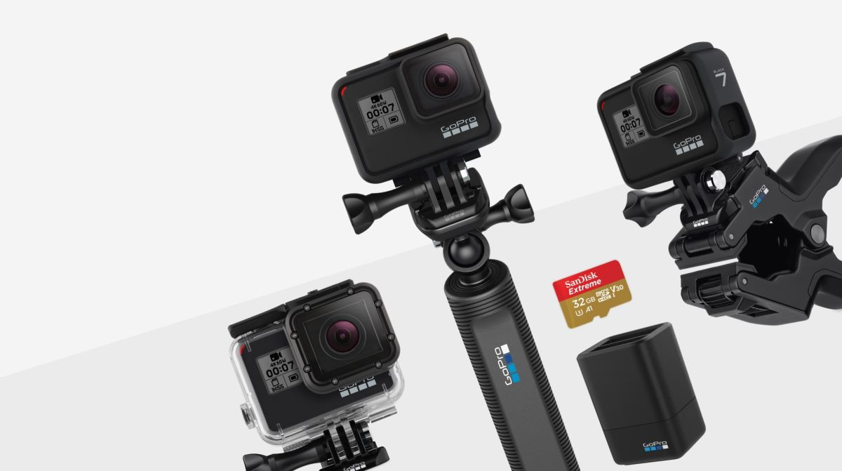 New GoPro Hero 7 action camera deal comes with essential accessory freebies