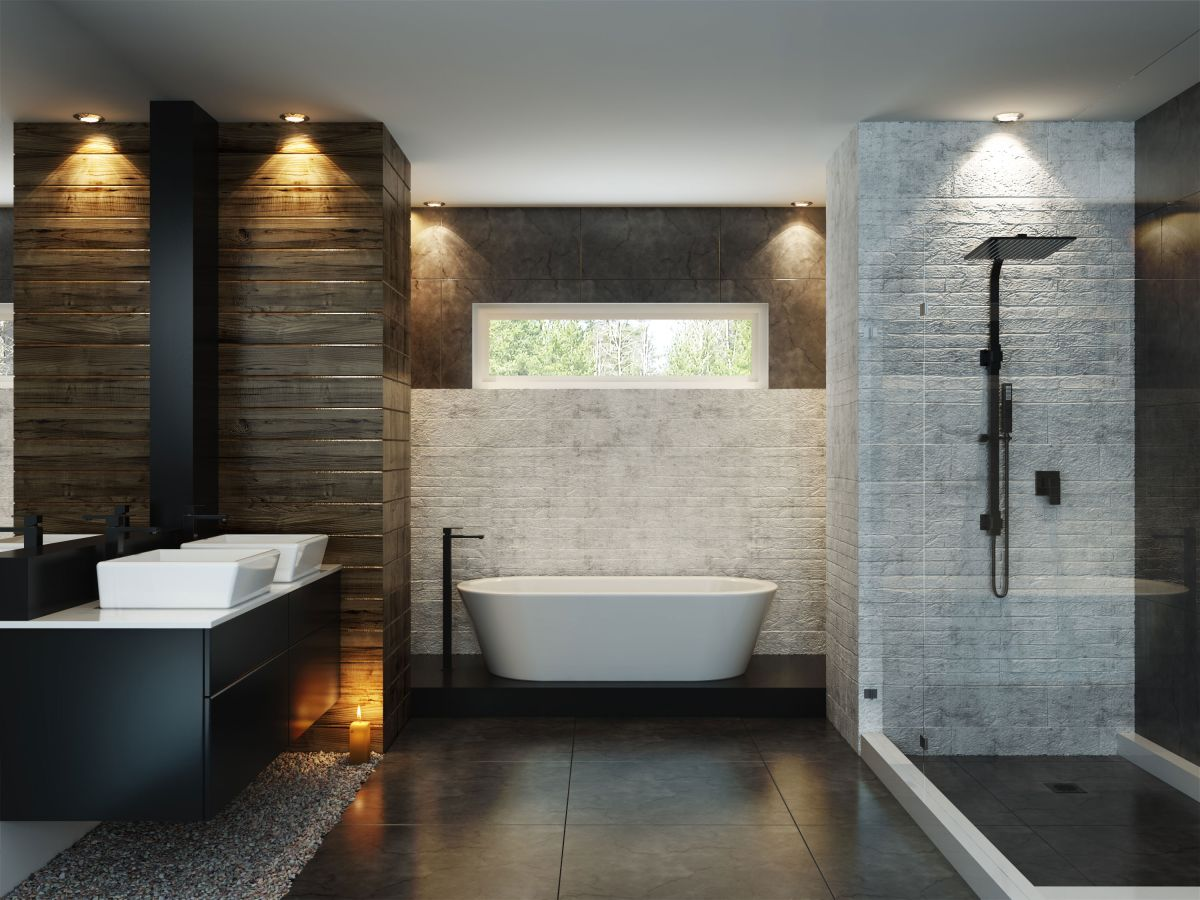 How To Choose Bathroom Lighting Real Homes Many Circuits In A