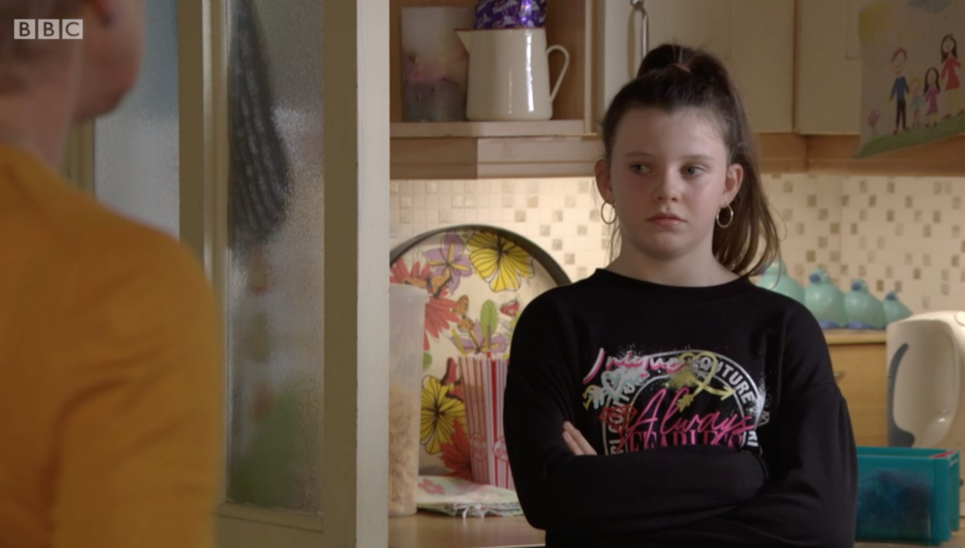 Lily Slater discute con Jean EastEnders