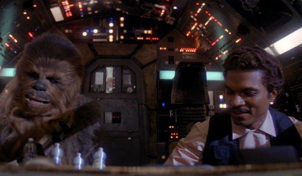 Lando Calrissian Chewbacca Millennium Falcon Star Wars the empire strikes back