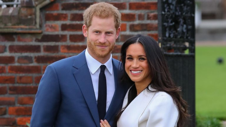 Meghan Markle and Prince Harry attend a photo call at Kensington Palace to mark their engagement Featuring: Prince Harry, Meghan Markle Where: London, United Kingdom When: 27 Nov 2017
