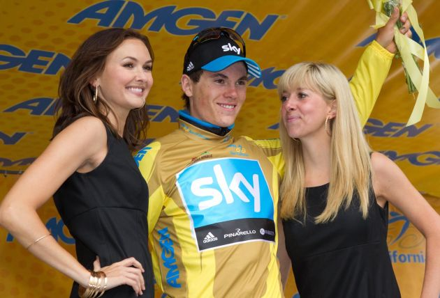 Ben Swift wins and takes lead, Tour of California 2011, stage two