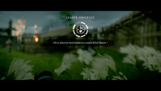 Ghost of Tsushima how to observe leaders