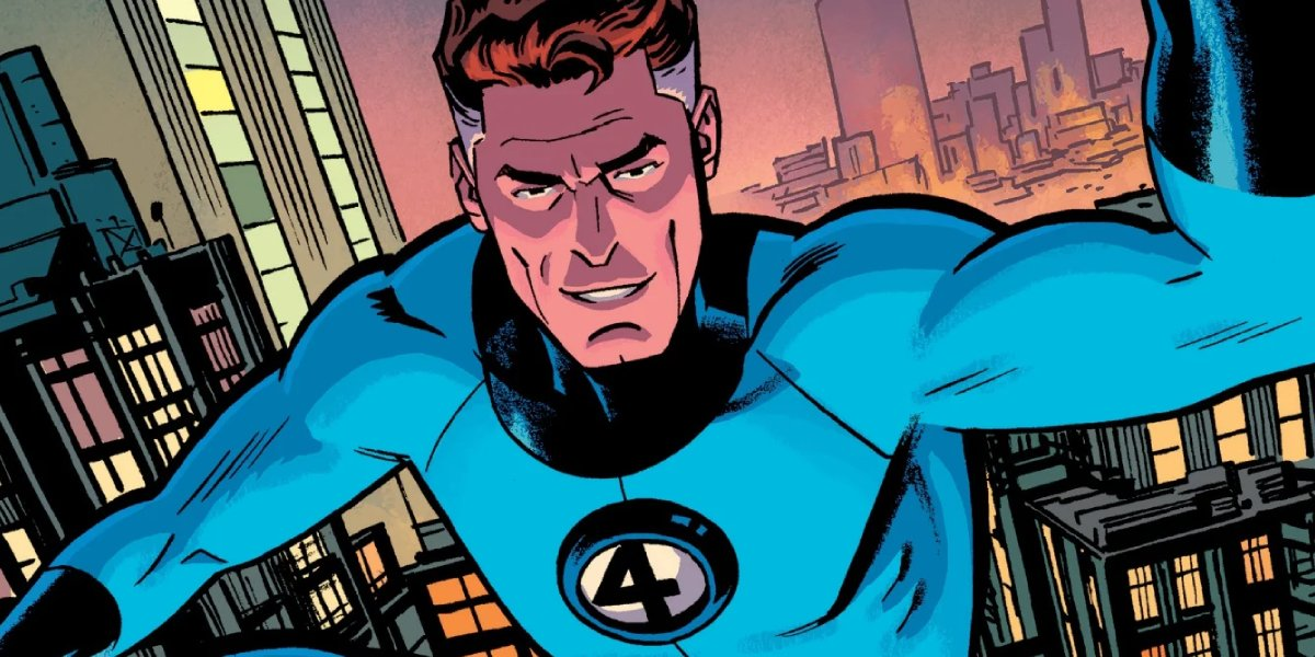 Mister Fantastic of the Fantastic Four from Marvel Comics