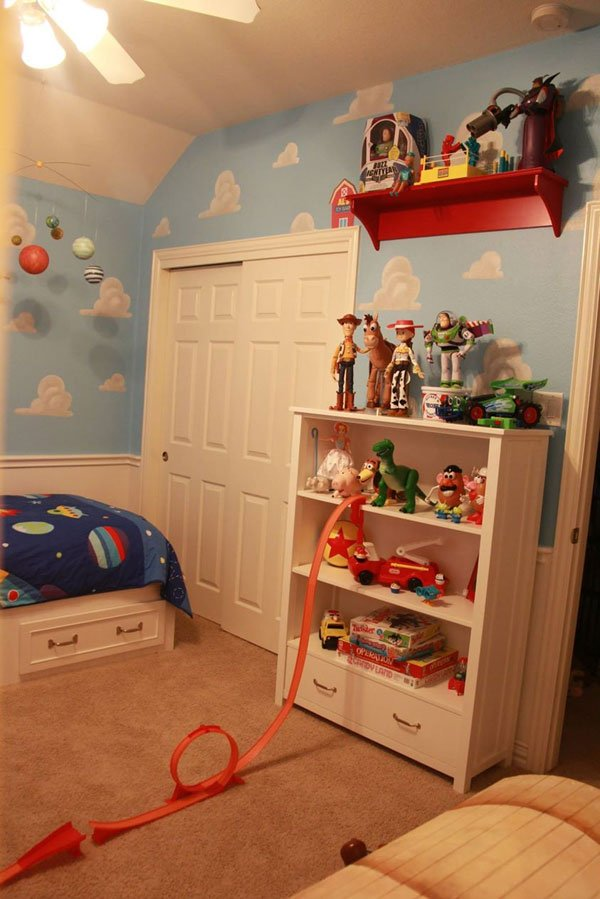 Toy Story: See This Mom's Perfect Recreation Of Andy's Room