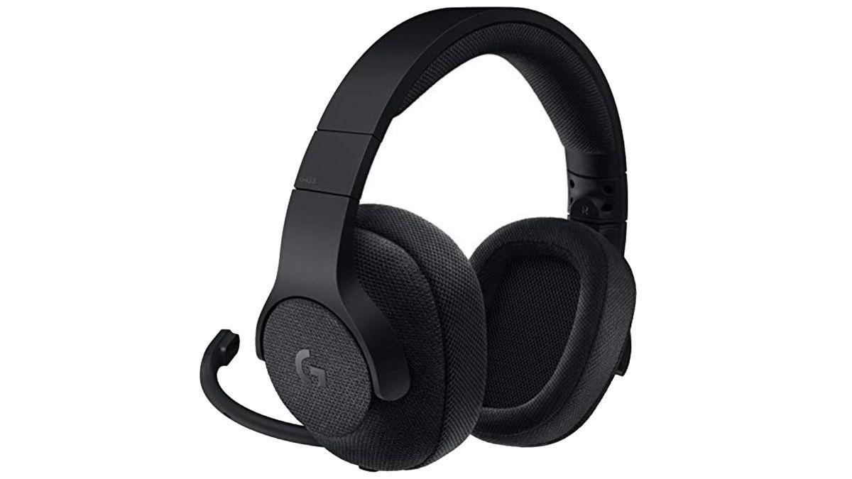 Get this Logitech G433 Wired, 7.1 Surround Sound gaming