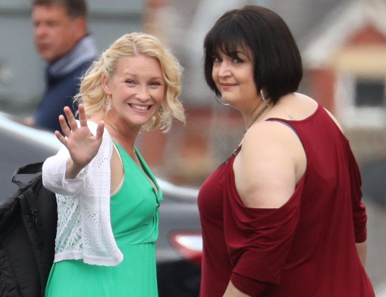 Gavin and Stacey Christmas special filming - Wales