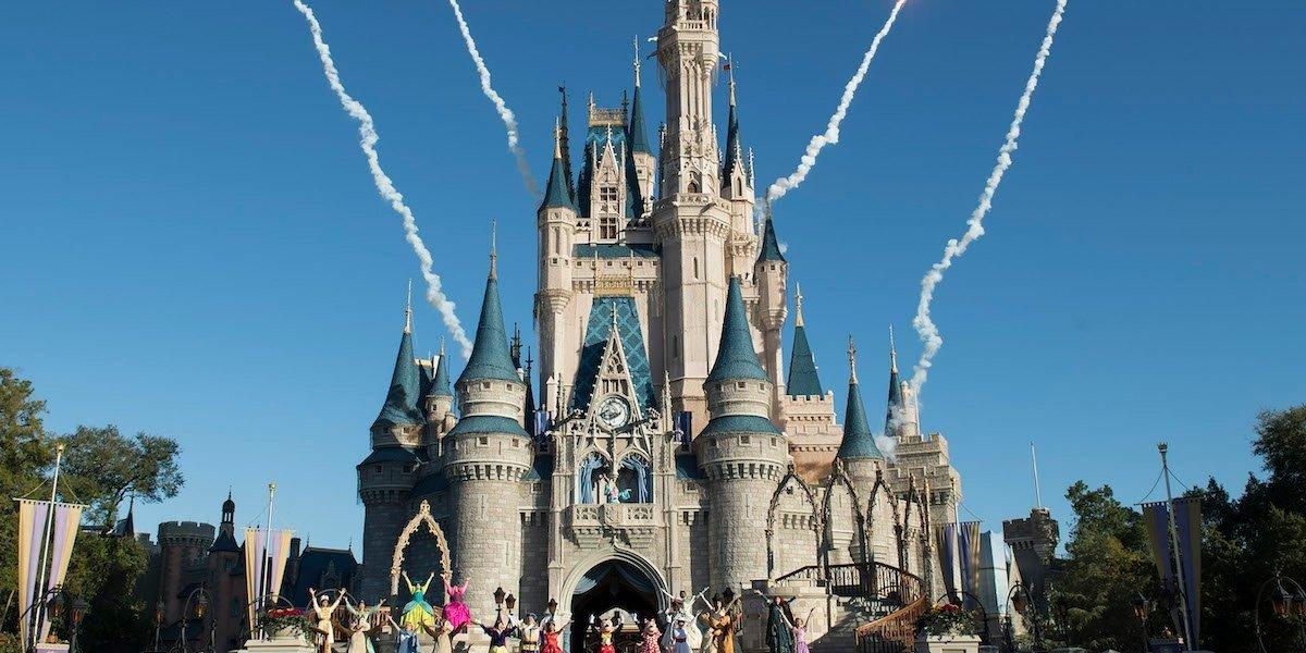 Cinderella's Castle in Walt Disney World resort