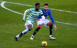 Odsonne Edouard and Connor Goldson