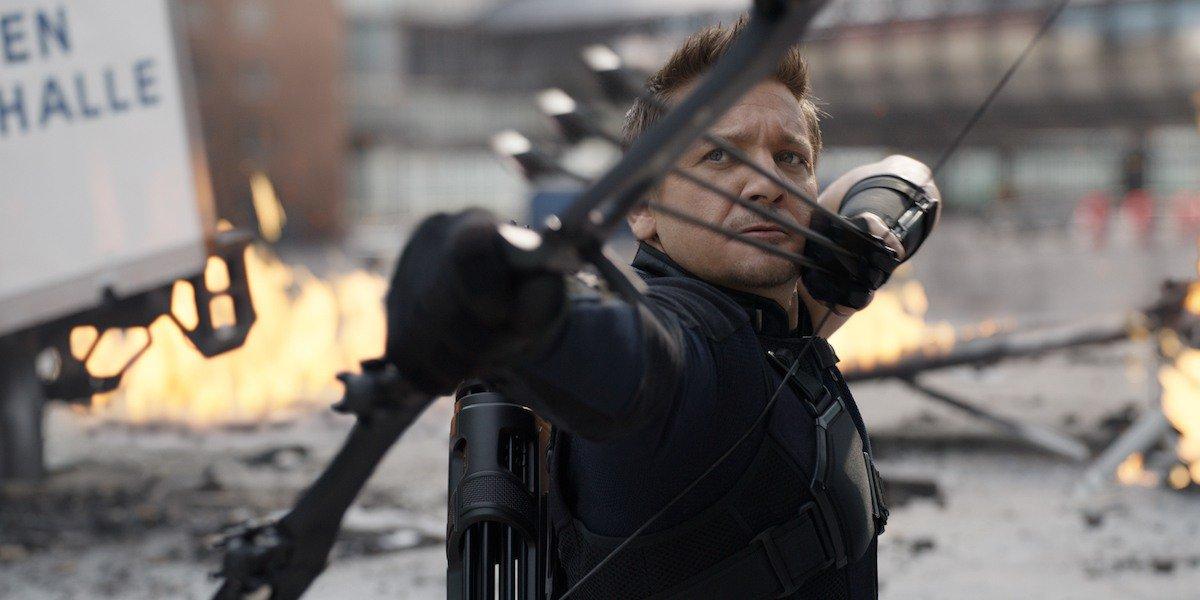 Hawkeye in Captain America: Civil War