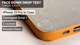 iPhone 13 drop testing