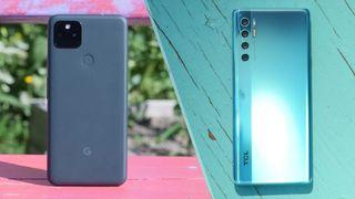 Pixel 5a vs. TCL 20 Pro 5G