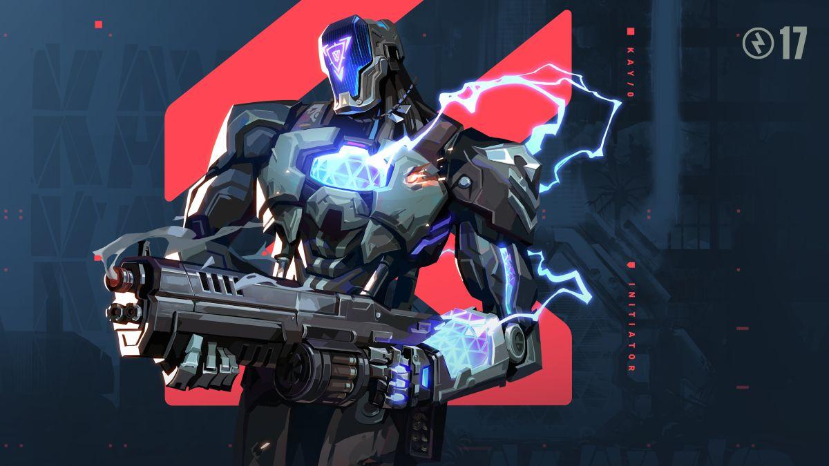 Valorant introduces KAY/O, a killer robot who silences enemy abilities