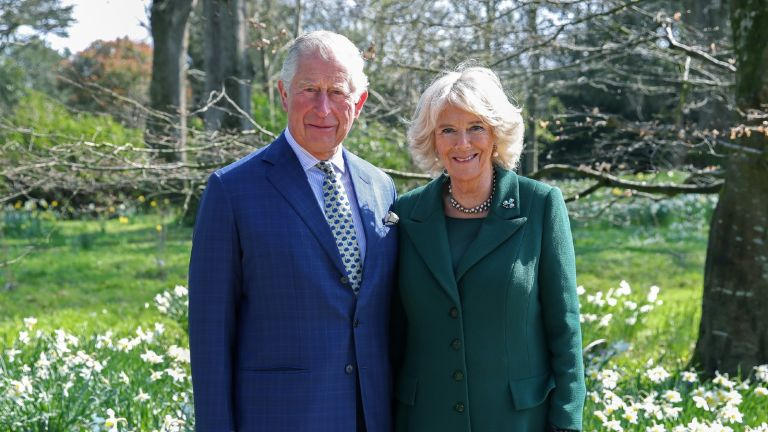 The Prince of Wales and Duchess of Cornwall at Highgrove House
