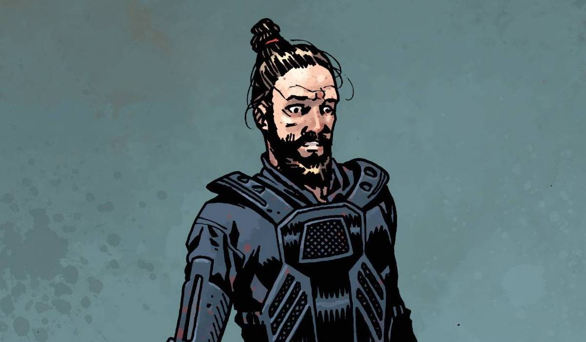 jesus the walking dead comic book cover