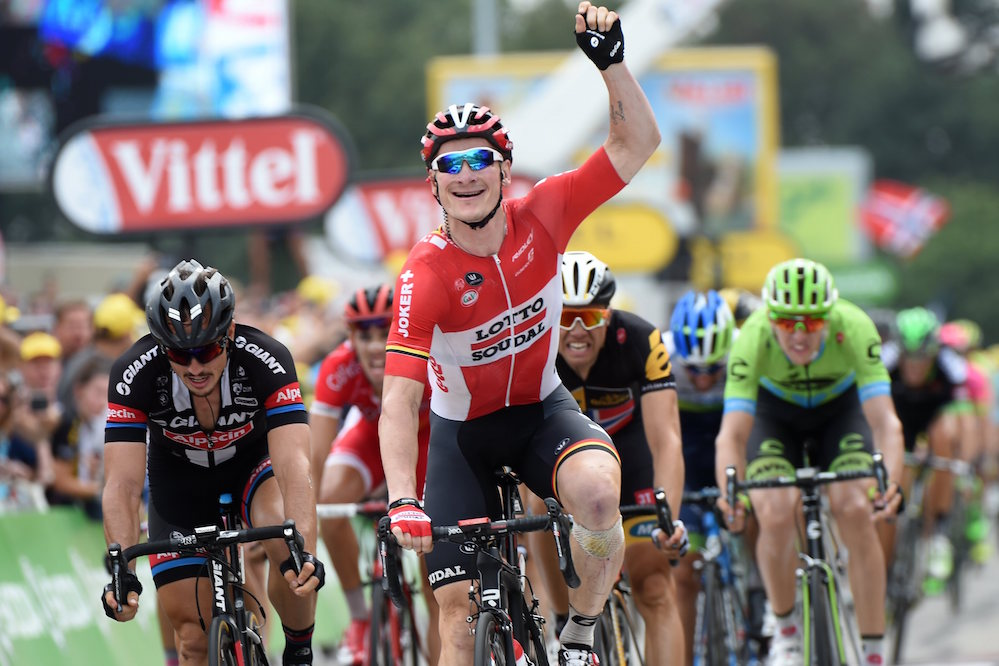 Andre Greipel wins stage fifteen of the 2015 Tour de France