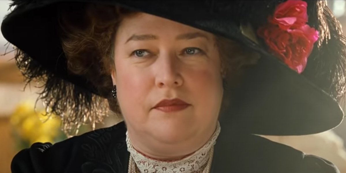 Molly Brown in Titanic.