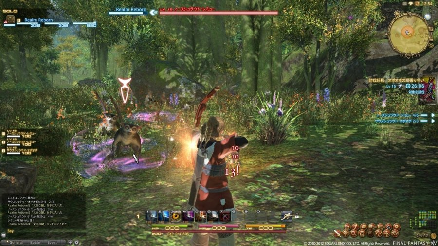 a realm reborn final fantasy xiv for pc