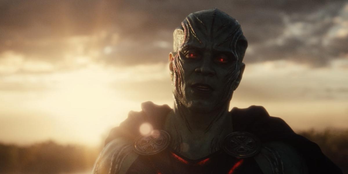 Martian Manhunter in the Snyder Cut