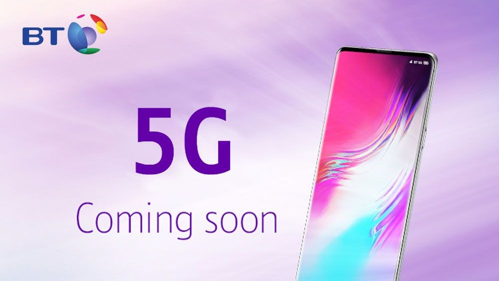 BT is switching on its 5G network in August