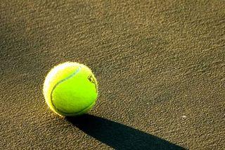 tennis, tennis ball, U.S. Open, sliding technique