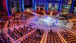Panasonic AW-HN40 cameras at Liverpool Metropolitan Cathedral