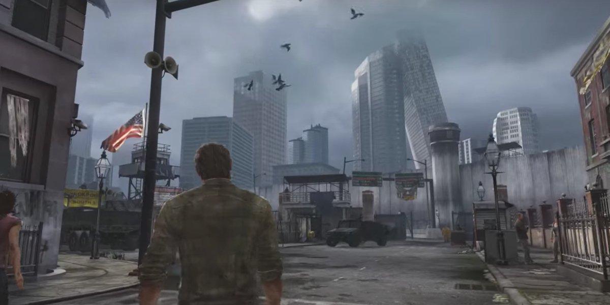 Joel in The Last Of Us