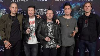 A picture of Avenged Sevenfold