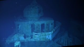 Explorers took a submersible down to the deepest shipwreck known, the USS Johnston in the Philippines Sea.