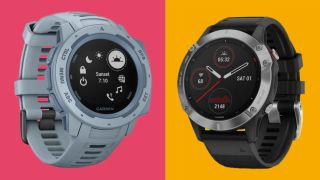 Garmin Instinct vs Garmin Fenix 6