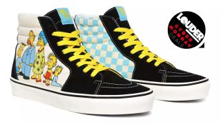 Vans shoes with Simpsons artwork