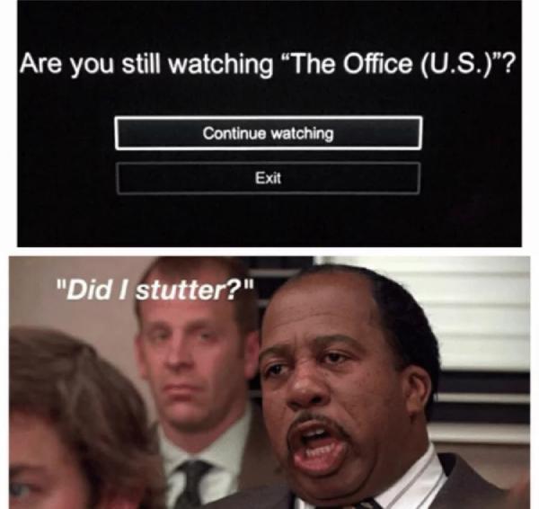 Beraninya Netflix bertanya Apa kau masih mengawasi kantor?