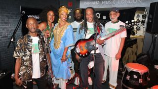 Osibisa posed band shot from 2020