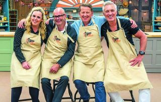 A fresh batch of celebs ventures into the tent in aid of Stand Up to Cancer