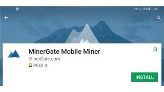 Is it possible to mine cryptocurrency on android
