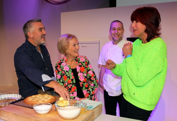 Paul Hollywood, Mary Berry,Chef Michel Roux, Jr and Janet Street-Porter.