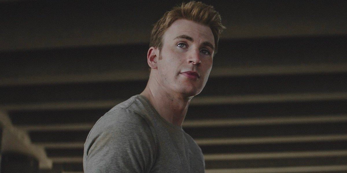 Chris Evans as Steve Rogers/Captain America in Captain America: Civil War (2016)