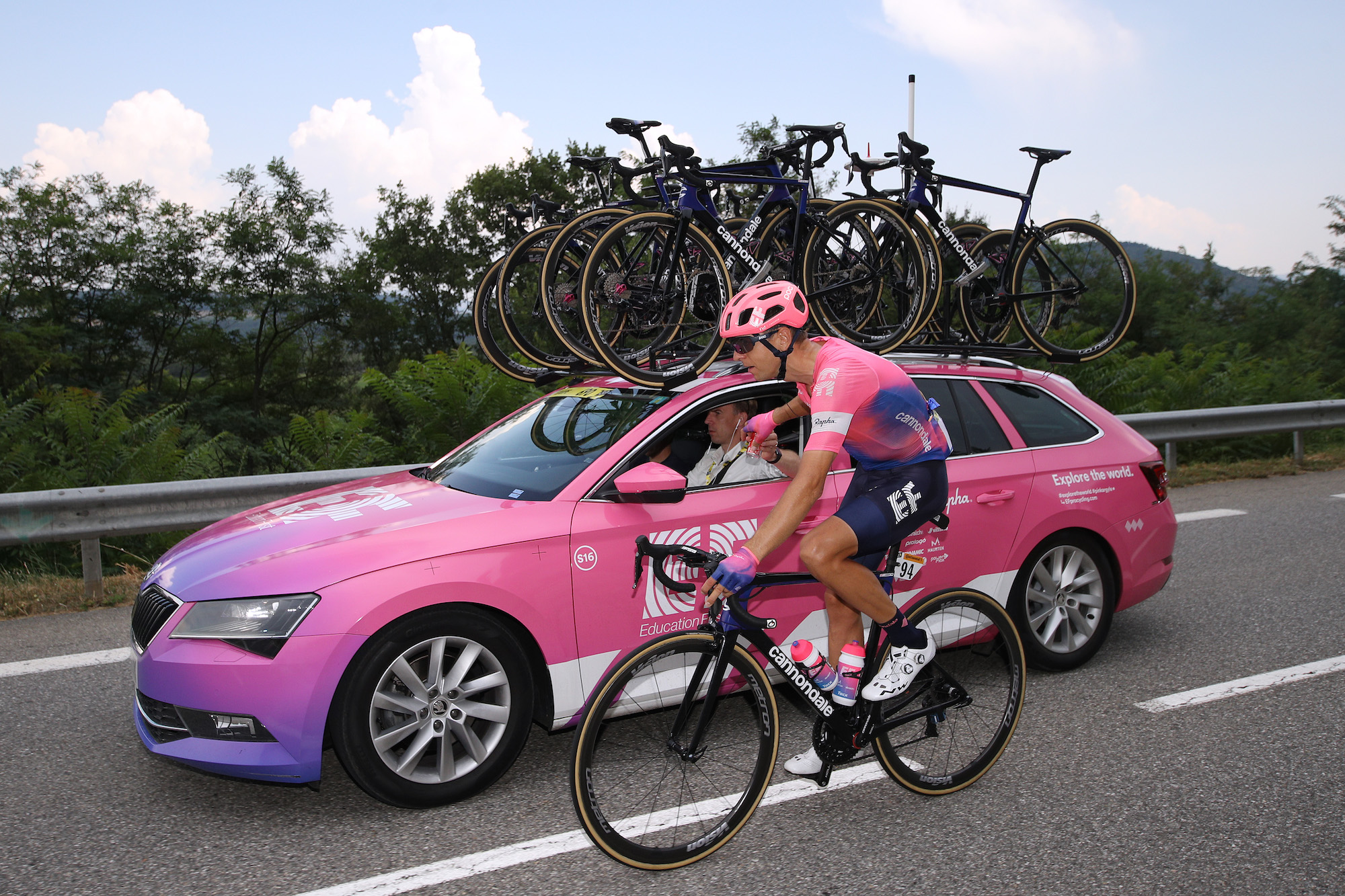 Which team was fined the most at the Tour de France? And what was the most common fine?