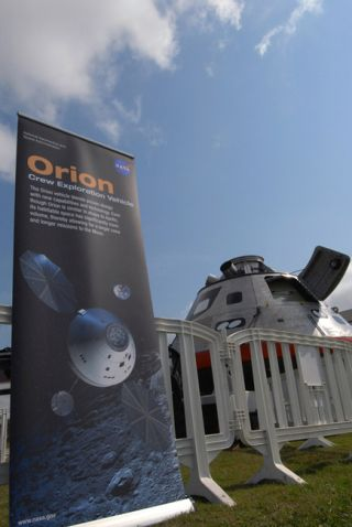 NASA Displays Moonship Prototype in Florida