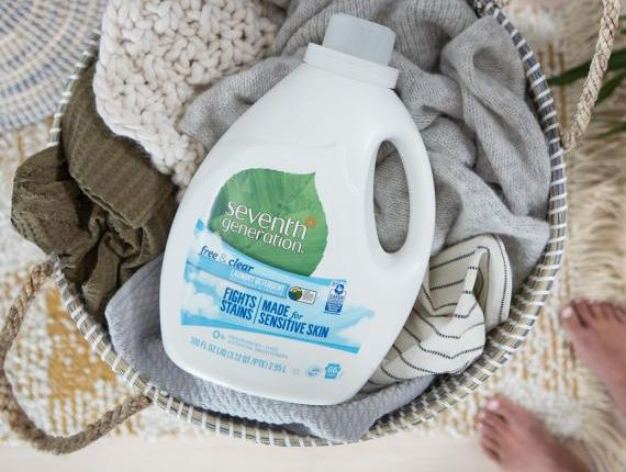 best laundry detergent: Seventh Generation Free & Clear