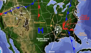 nws weather map nov. 28