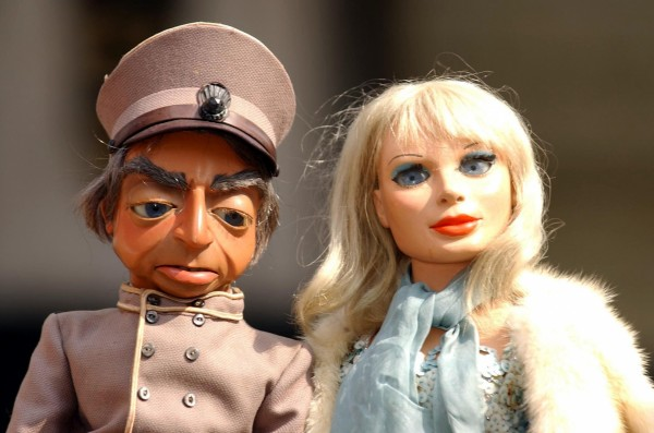 The original Lady Penelope and her chauffeur Parker (Andy Butterton/PA)