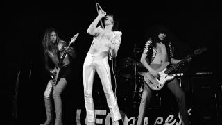 UFO March 1976, Michael Schenker (guitar) Phil Mogg (vocals) Pete Way (bass)