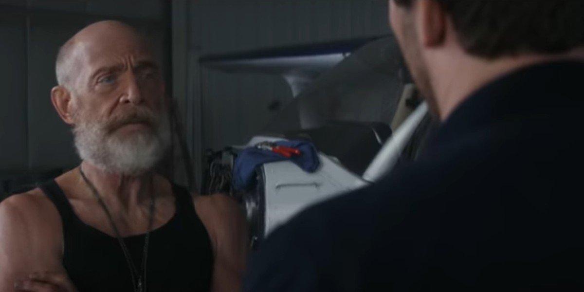 Chris Pratt Teases J.K. Simmons' Massive Biceps In Amazon's Tomorrow War