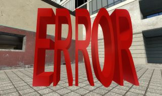Garry's Mod Source Error Model
