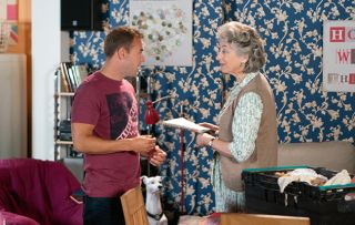 Coronation Street spoilers: Evelyn Plumber makes herself at home