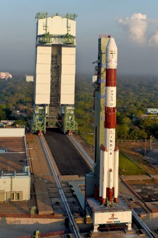Indian Rocket Poised to Launch on Record-Setting Mission