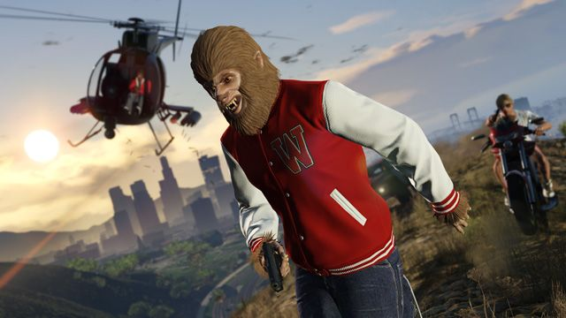 Forget Spider-Man, GTA Online's latest mode lets you soar like... Teen Wolf?