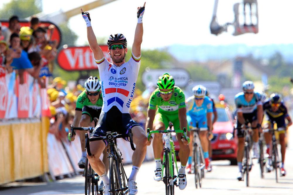 Mark Cavendish Wins Alejandro Valverde Loses On Stage 13