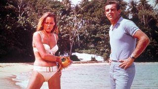 Best James Bond films - James Bond and Honey Ryder in Dr. No